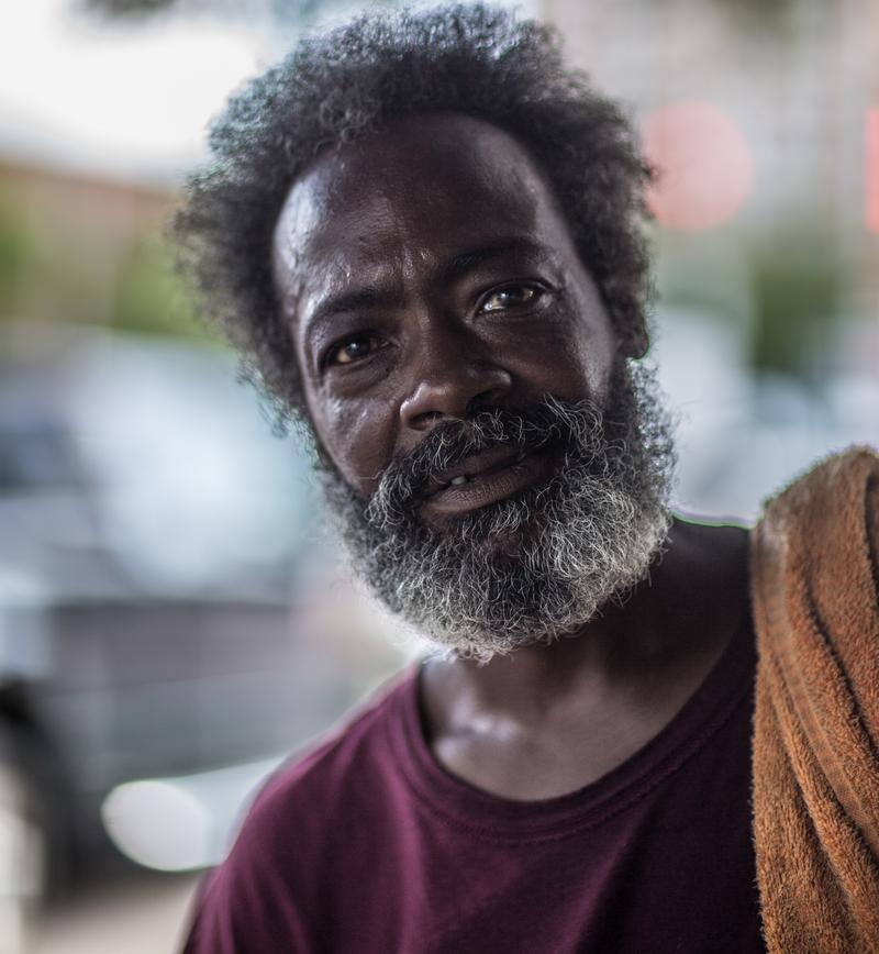 A man named Rick in Richmond, Virginia. August 12, 2016