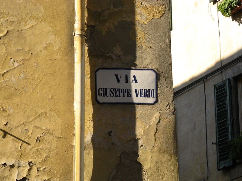 Florence: Via Giuseppe Verdi