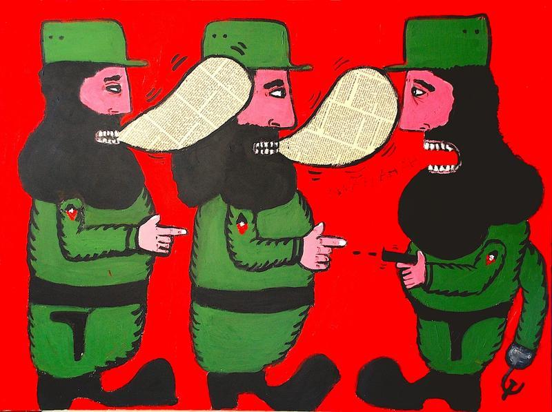La Batalla de Ideas (The Battle of Ideas), by Bernardo Navarro Tomas