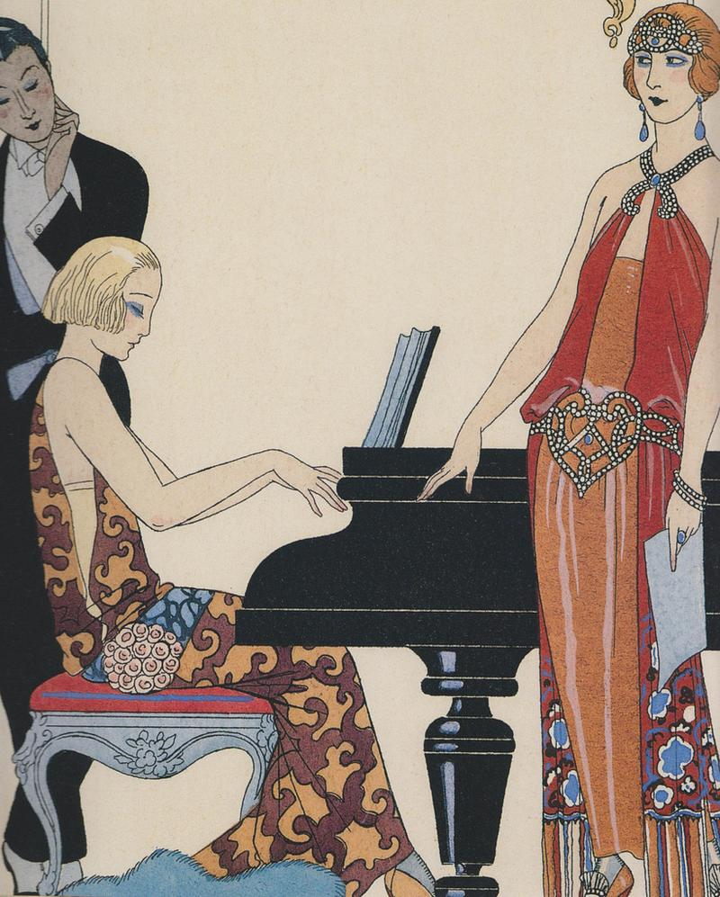 Incantation (1922-23) By Georges Barbier