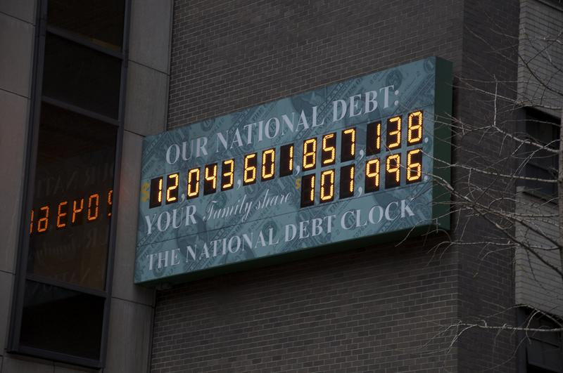 The National Debt Clock. December 2, 2009