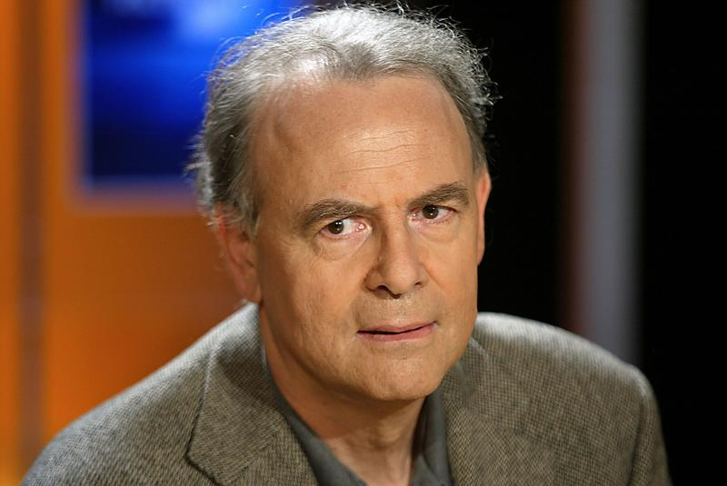 A photo taken on October 7, 2003 in Paris shows French writer Patrick Modiano who won the 2014 Nobel Prize in Literature, the Royal Swedish Academy announced on October 9, 2014 in Stockholm.