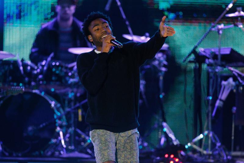 Childish Gambino performs onstage at the 2014 mtvU Woodie Awards and Festival on March 13, 2014 in Austin, Texas.