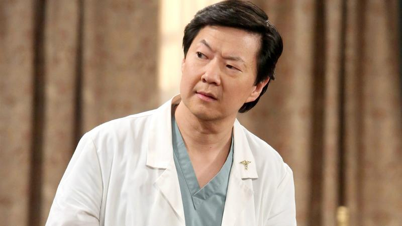 Ken Jeong is a doctor in real life -- and, often, on screen.