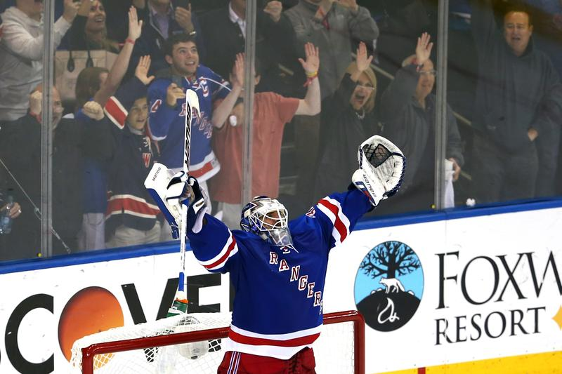 New York Rangers' Goalie Henrik Lundqvist