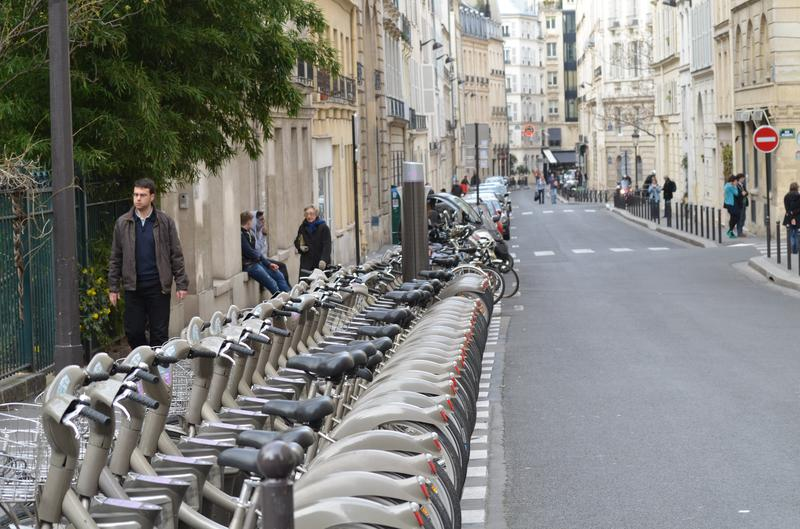 Velib, Paris's bike share program