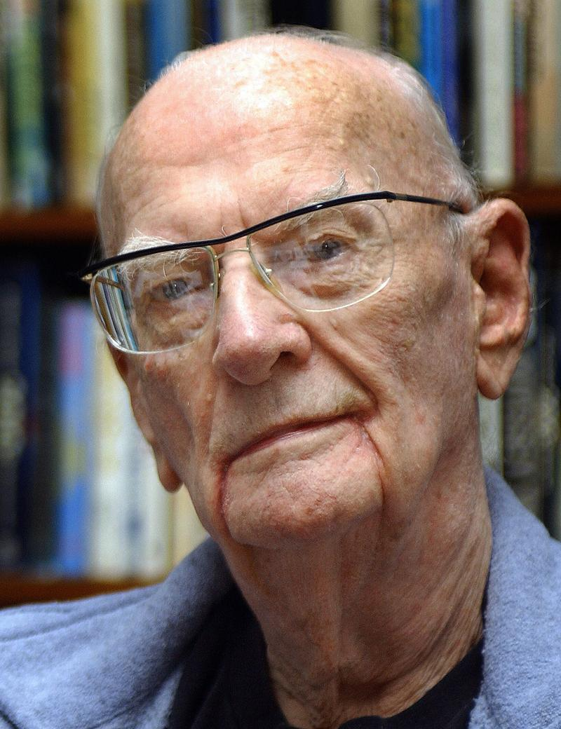Science fiction author Arthur C. Clarke