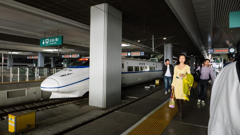 High-speed rail in China