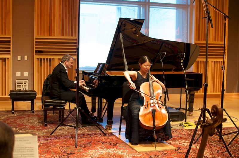Christopher O'Reily and Ju Hyun Lee