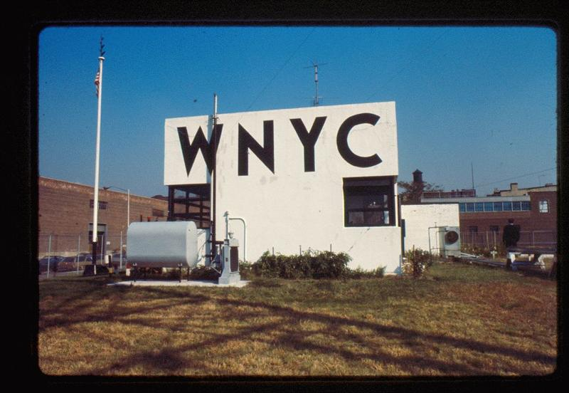 Old WNYC-AM transmitter site in Greenpoint, Brooklyn