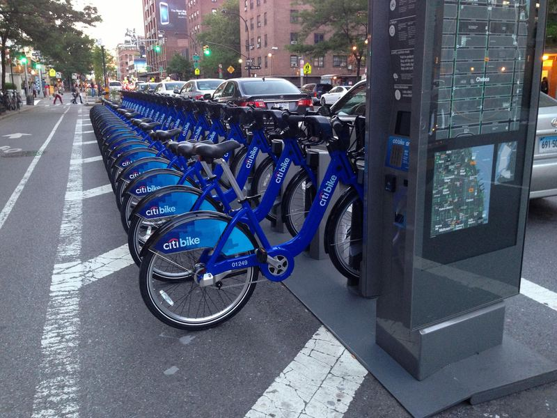 CitiBike, New York City.