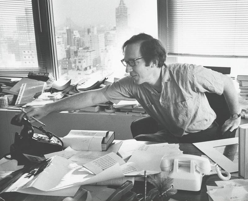 """A photo from Robert Gottlieb's new memoir, """"Avid Reader: A Life."""""""