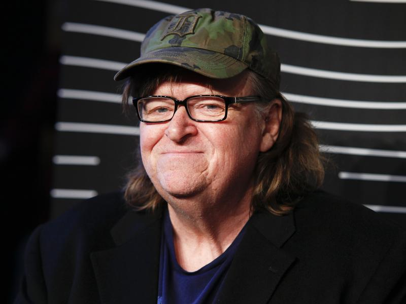 May 16, 2016: Michael Moore attends the 20th Annual Webby Awards at Cipriani Wall Street in New York.