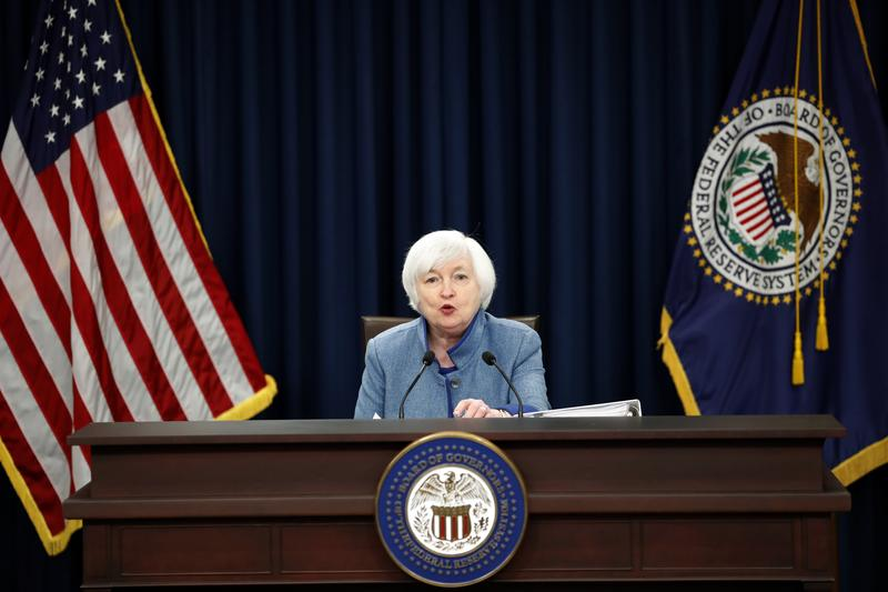 Federal Reserve Board Chair Janet Yellen speaks during a news conference about the Federal Reserve's monetary policy, Wednesday, Dec. 14, 2016, in Washington.