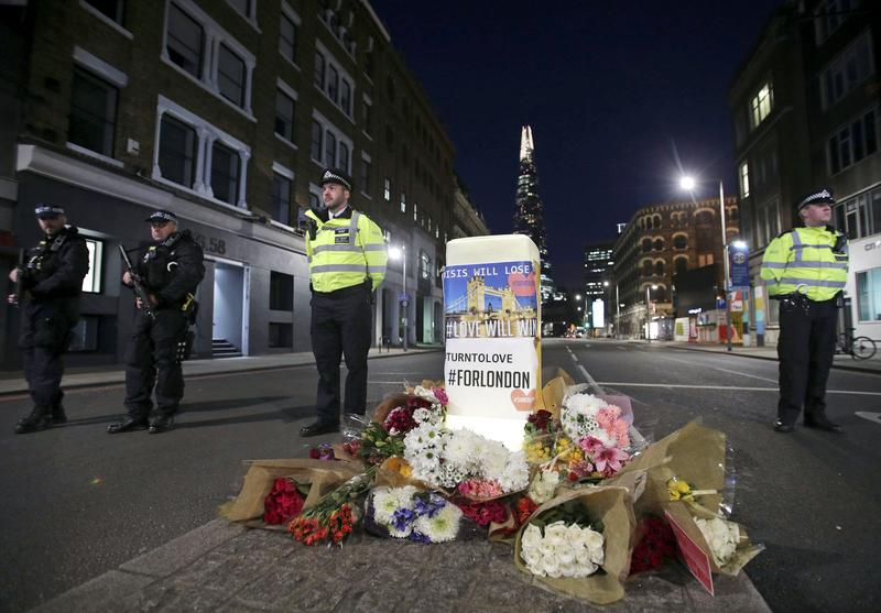 United Kingdom police name third man behind London terror attack