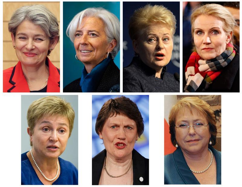 Possible female contenders for U.N. secretary general.