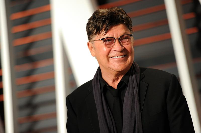 Robbie Robertson arrives at the 2015 Vanity Fair Oscar Party on Sunday, Feb. 22, 2015, in Beverly Hills, Calif.