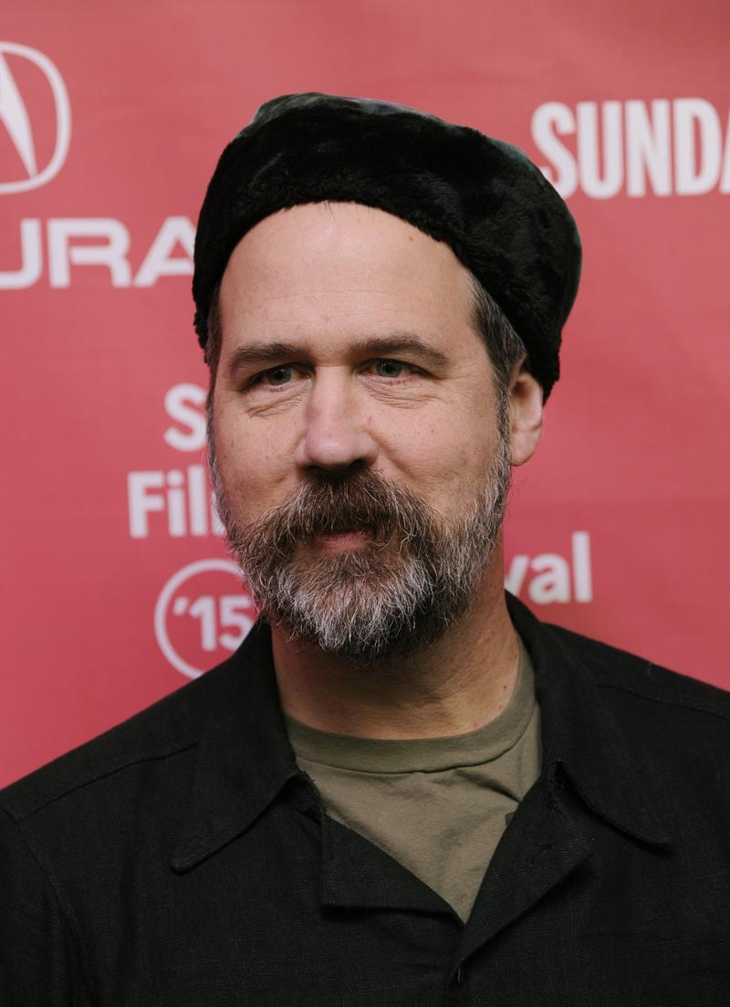 "Krist Novoselic, former bass player of Nirvana, arrives at the premiere of the documentary film ""Kurt Cobain: Montage of Heck,"" at The MARC Theatre during the 2015 Sundance Film Festival."