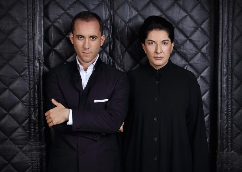 Classical musician Igor Levit and performance artist Marina Abramovic.