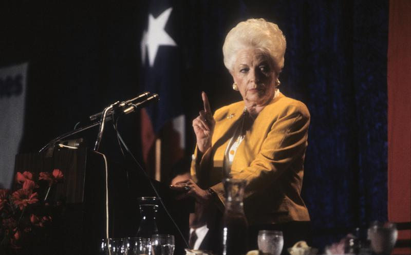 "Ann Richards in ""All About Ann: Governor Richards of the Lone Star State"""