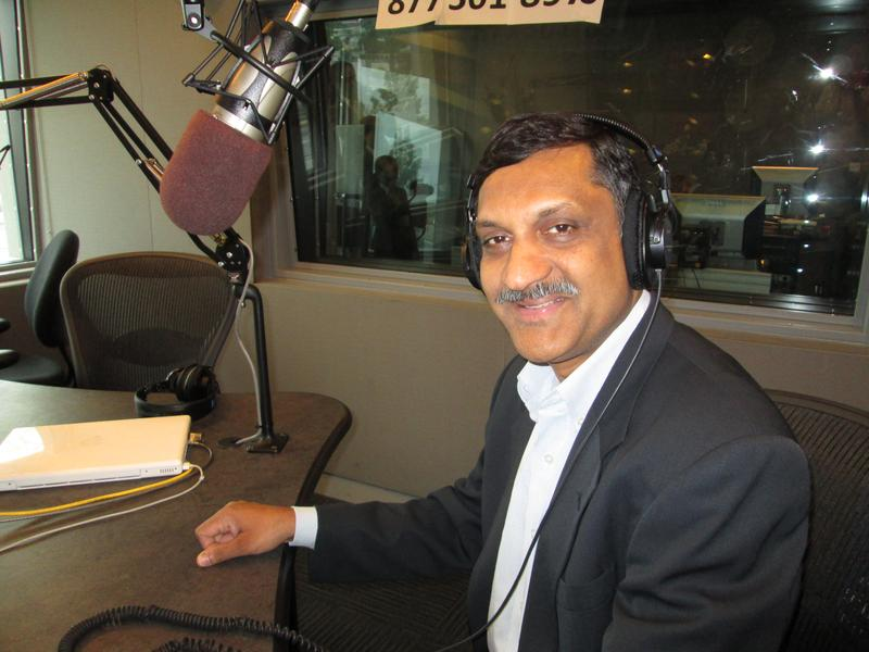 Anant Agarwal, president of edX at WGBH