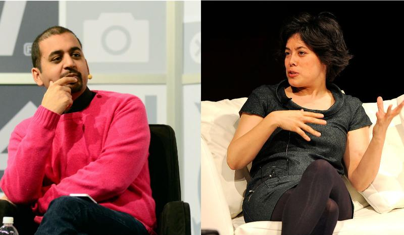 Anil Dash at South by Southwest and Caterina Fake at the Wired Business Conference.
