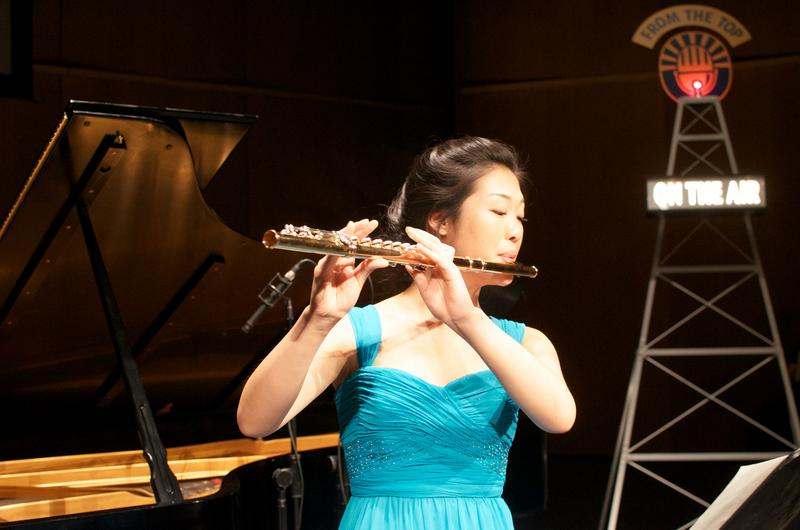 Annie Wu, flute, age 16 from Pleasanton, Calif.
