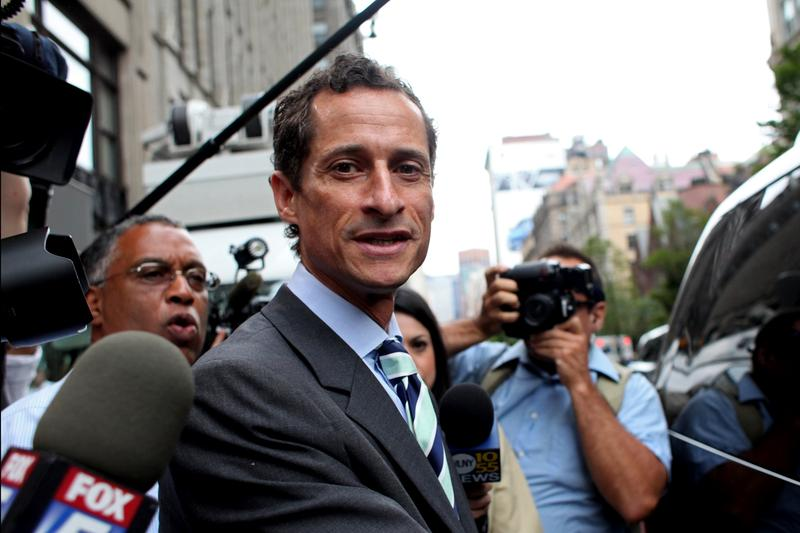 Mayoral candidate Anthony Weiner.