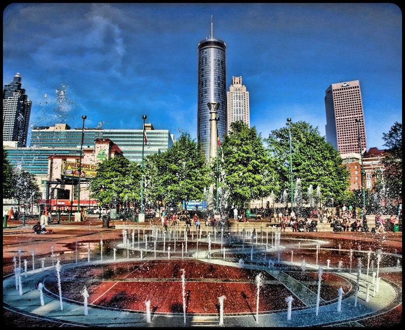 Atlanta's Centennial Olympic Park