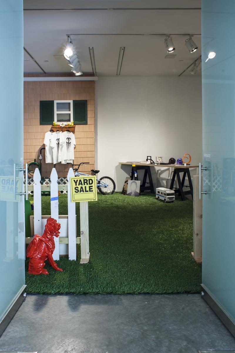 Attenborough-Naftel's Yard Sale. An ongoing installation at De Buck Gallery.