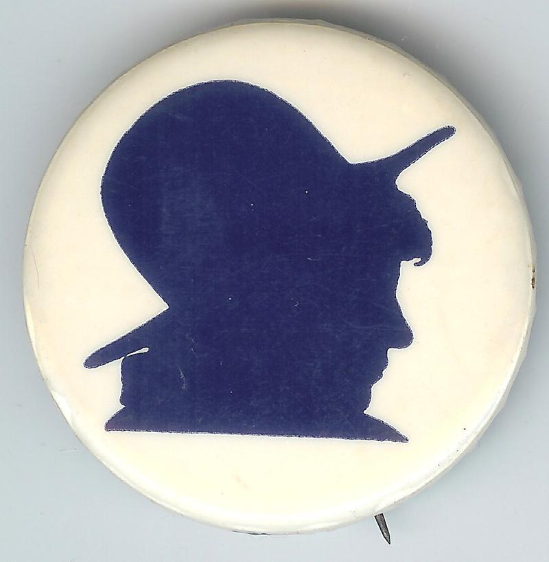 Bella Abzug campaign pin.
