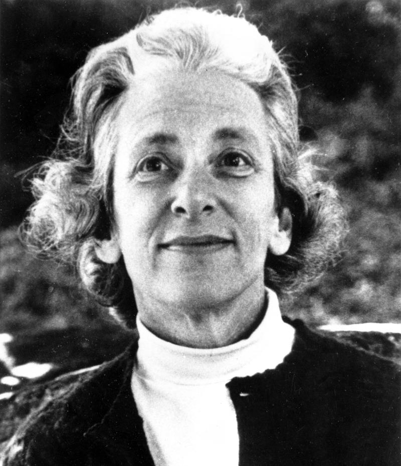 American author and historian Barbara W. Tuchman poses in this undated photo.