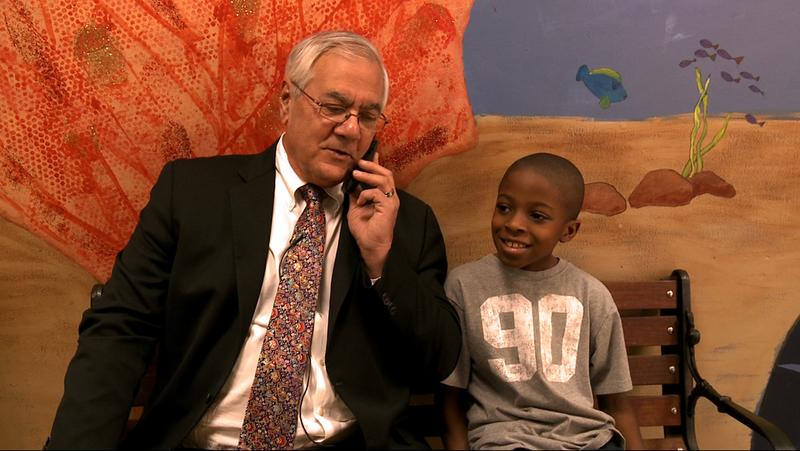 "U.S. representative Barney Frank in ""Compared to What,"" a documentary by Sheila Canavan and Michael Chandler"