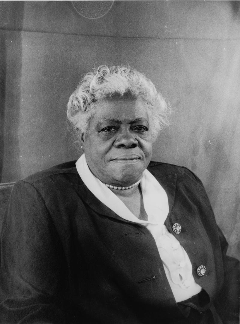 Mary McLeod Bethune, April 6, 1949.