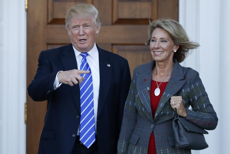 Trump has chosen charter school advocate Betsy DeVos as Education Secretary in his administration.