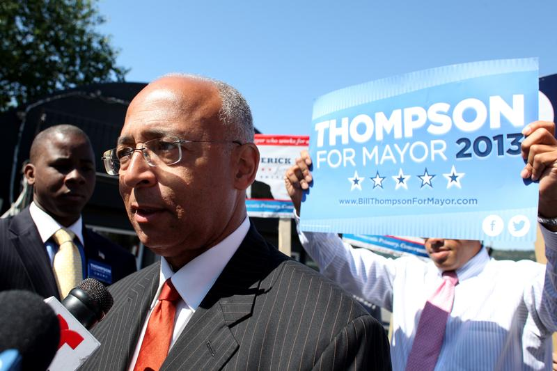 Mayoral candidate Bill Thompson.