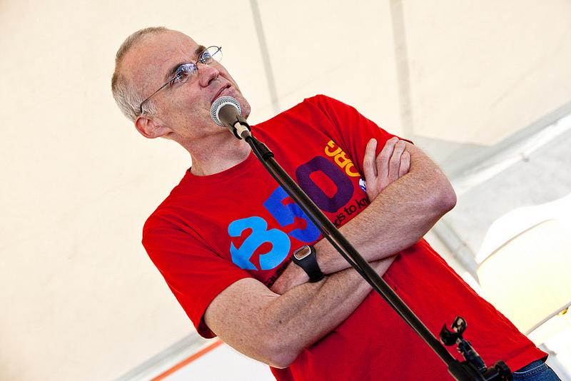 Environmental author and activist Bill McKibben