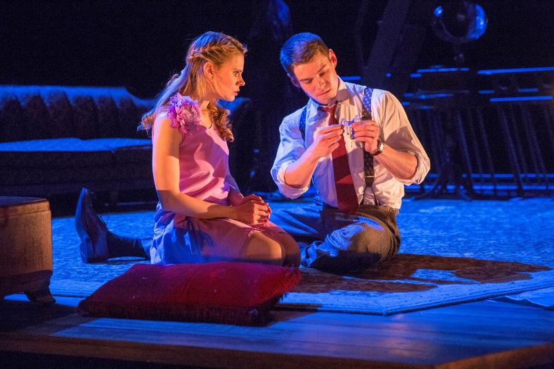 "Celia Keenan-Bolger and Brian J. Smith in ""The Glass Menagerie"""