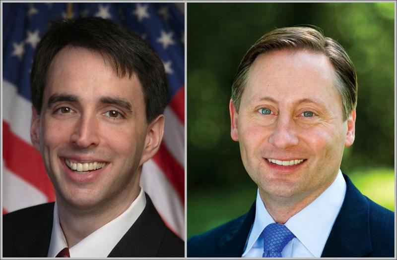 Candidates for Westchester County Executive 2013: Noam Bramson (D) and Rob Astorino (R)