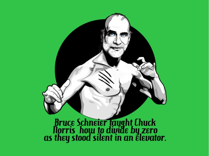 Security technologist Bruce Schneier has a very, very loyal fan base.