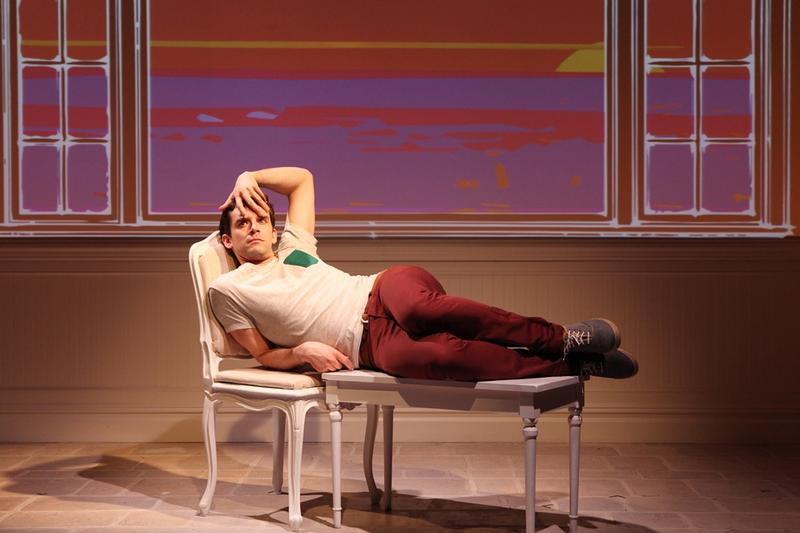 "Michael Urie in ""Buyer & Cellar"""