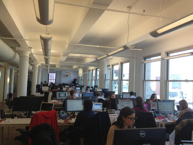 BuzzFeed's office in Manhattan