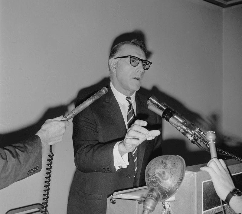 Carmine DeSapio Giving Speech, June 19, 1963