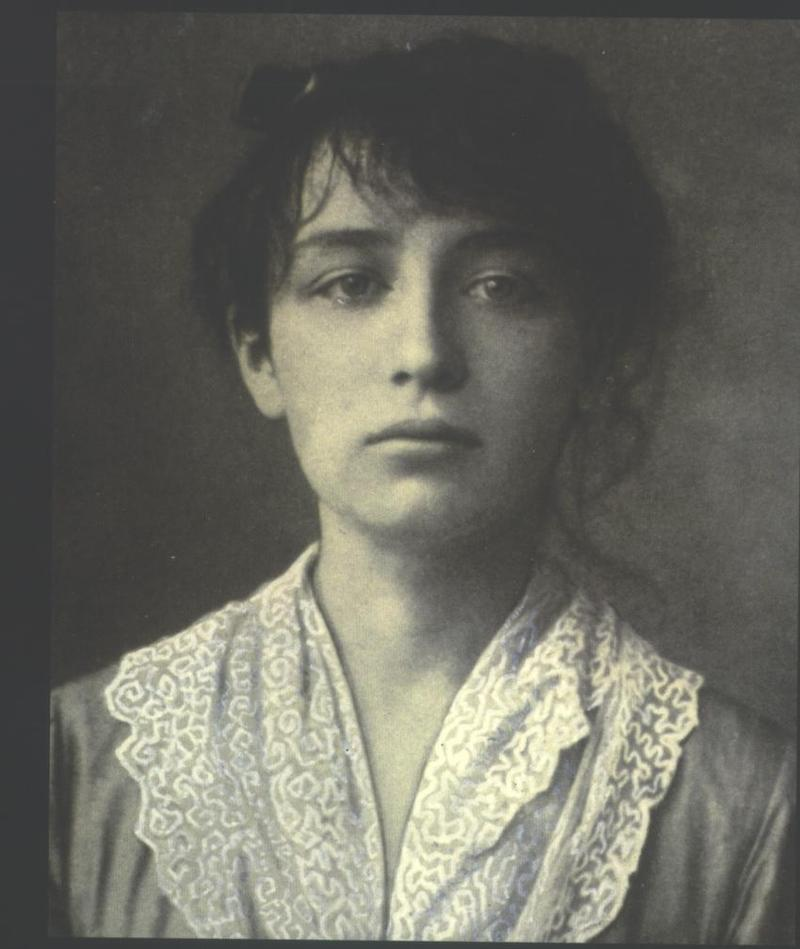 Camile Claudel was a gifted sculptor who posed for French sculptor Auguste Rodin and had to be institutionalized after he dropped her.