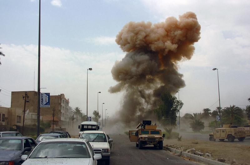 Car bombing in Iraq.
