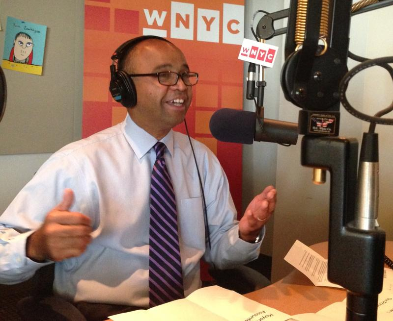Independence Party mayoral candidate Adolfo Carrion in the WNYC Studios
