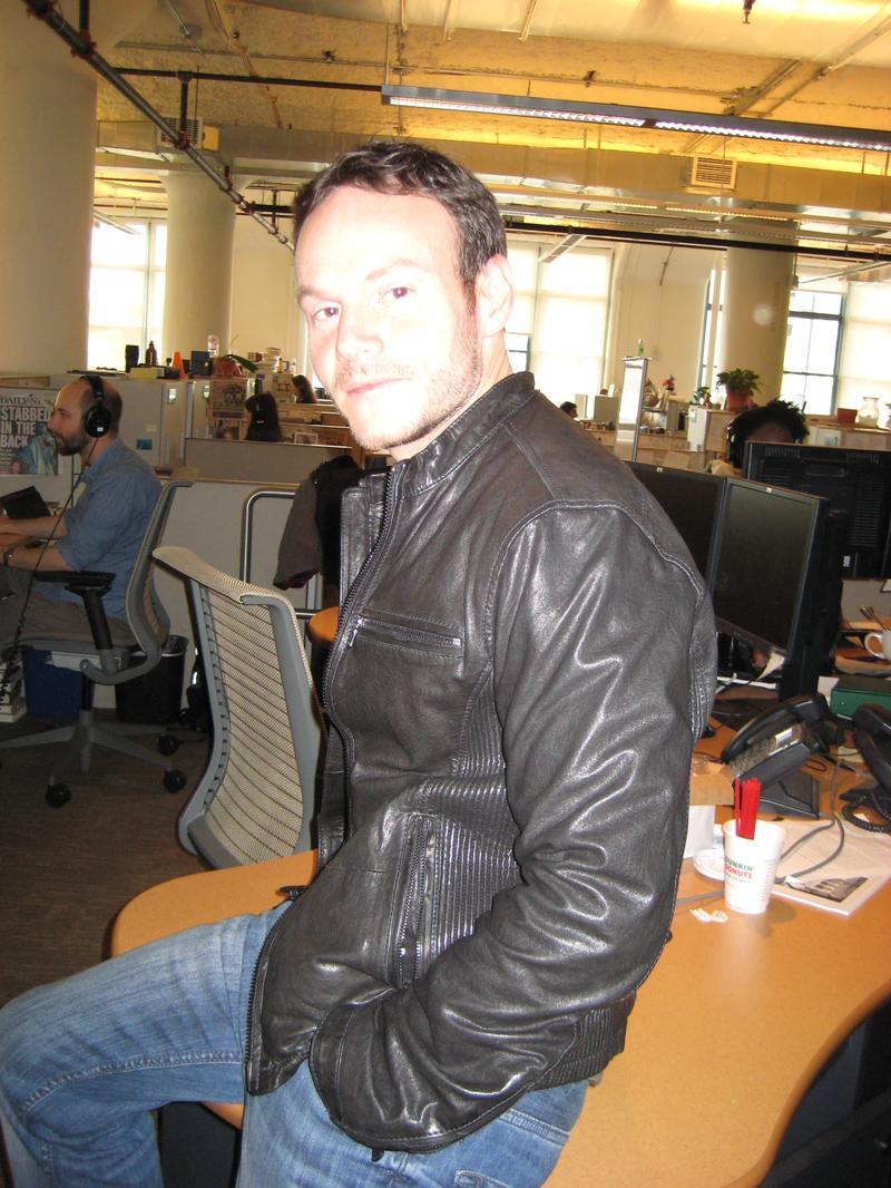 Screenwriter Chris Terrio in the WNYC studios