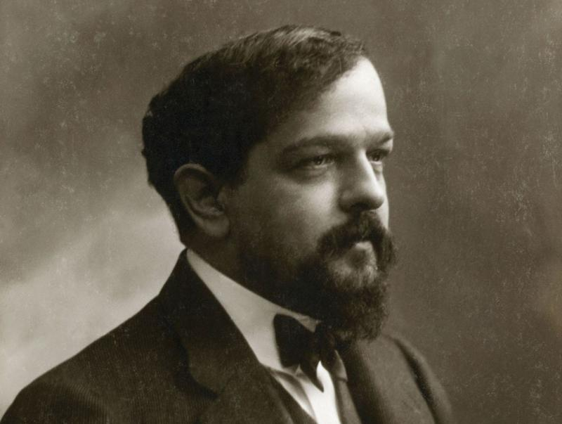Claude Debussy in 1908.