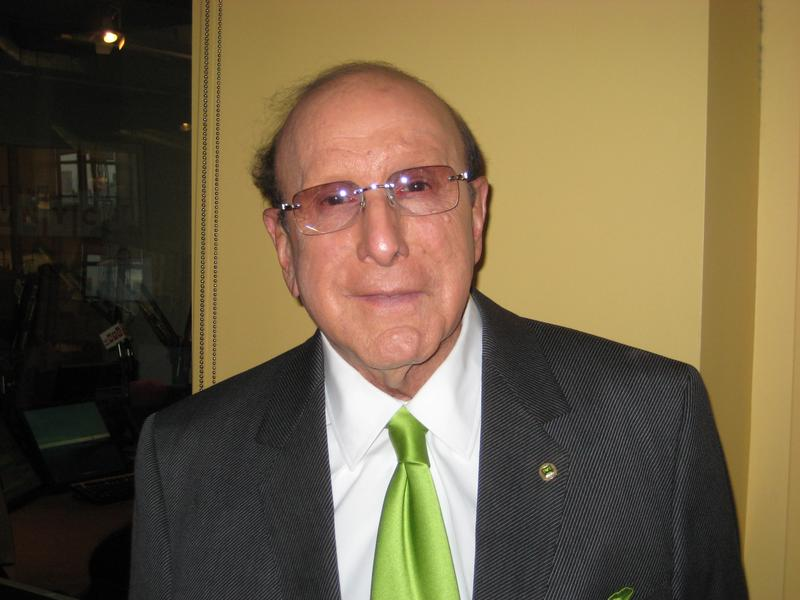 Music industry executive Clive Davis in the WNYC studios