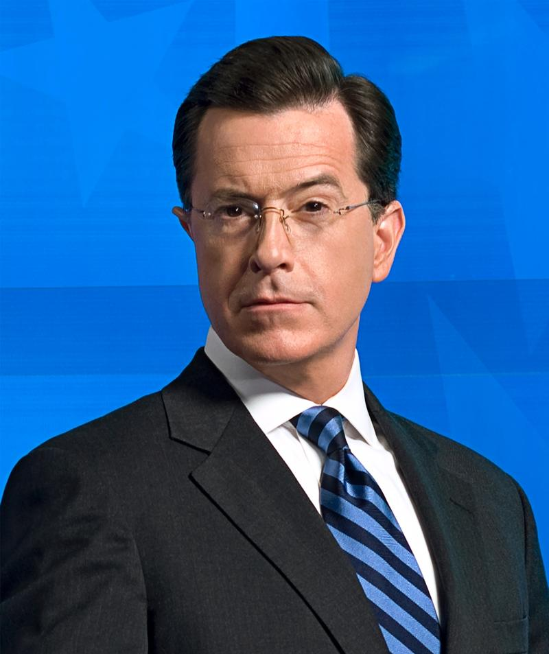 Colbert Report host Stephen Colbert